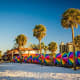 Clearwater Beach, Clearwater, Fla.Beautiful white sand and clear, shallow water make this beach an ideal playground for families. Lots to do in the area, clean sand, but some say it is crowded.Photo: Shutterstock