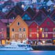 3. NorwayFinances in Retirement score: 60Health score: 90Material Wellbeing score: 87Quality of Life score: 92Countries in the top ten typically achieved good performance across all four sub-indices. The top 10 countries all have higher scores for the quality of life sub-index. Pictured is Bergen, Norway.Photo: Elaine.Adoptante / Shutterstock