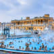 30. HungaryFinances in Retirement score: 60Health score: 59Material Wellbeing score: 70Quality of Life score: 58Above, people enjoy the Szechenyi thermal baths in Budapest.Photo: Izabela23 / Shutterstock