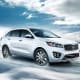 Kia SorentoPrice starts at: $25,900MPG: Up to 21 city / 28 highwayEdmunds recommends the Sorento EX with the V6 engine.Photo: Kia