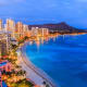 Honolulu: 25.7%Hawaii's capital is known for its dining, nightlife, shopping, and scenic crescent beach with high-rise hotels and Diamond Head as a backdrop. Visit the USS Arizona Memorial while you're there.Photo: Shutterstock