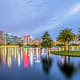 Orlando: 38.6%of agents surveyed booked trips to Orlando.Orlando is home to more than a dozen theme parks.Photo: Shutterstock