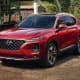 Hyundai Santa FeStarts at: $25,500MPG: Up to 22 city / 29 highwayHyundai's two-row, midsize SUV has a quiet, comfortable, and attractive cabin and lots of standard safety features, but the base engine is a bit sluggish, according to US News.Photo: Hyundai