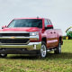 Chevrolet Silverado 1500Starts at: $28,300MPG: Up to 17 city / 23 highwayThe versatile full-size pickup has a towing capacity of 6,700 to 9,900 pounds, and comes in three body styles.Photo: Chevrolet