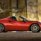 """The Alfa Romeo 4C entered the U.S. market in 2015.It costsaround $67,000. That's only a couple thousand more than Tesla Inc.'s base Model S.""""It's loud,"""" Falcione said. """"Fun to drive""""The Romeo can go 0-60 in four seconds. It also features power steering.""""It's an affordable supercar,"""" he added.What puts the Alfa Romeo on the list? Falcione says that it's earned a spot partially because it's being discontinued in the U.S."""