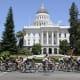 11. Sacramento, Calif.Population: 466,488Bike Score: 65.9Above, the Amgen Tour of California passes by the capitol.Photo: Dana Gardner / Shutterstock