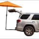 TailbrellaThis tailgater's 9-foot umbrella attaches to the trailer hitch and comes in nine colors; it's $137.Photo: Tailbrella
