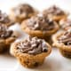 New YorkGlazed jelly donutsChocolate chip cookie cupsChocolate chip cookie cups are made by shaping the cookie batter in a mini-muffin tin. You can fill them with ice cream, milk, or whatever, according to Pillsbury.Photo: Pillsbury