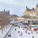 19. Ottawa, CanadaAbove, skaters on Ottawa's Rideau Canal, the world's largest naturally frozen skating rink, which stretches 4.8 miles from downtown to Dows Lake.Photo: Shutterstock