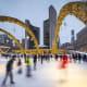 16. TorontoIce skaters enjoy Nathan Phillips Square in Toronto.Photo: Shutterstock