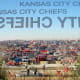 9. Kansas City ChiefsAverage single ticket cost: $209Two beers, two hot dogs, two t-shirts and remote parking: $168Total for two: $586Photo: Stephanie A Sellers / Shutterstock