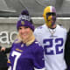 10. Minnesota VikingsAverage single ticket cost: $187Two beers, two hot dogs, two t-shirts and remote parking: $196 (highest)Total for two: $570Above, Vikings fans head into the stadium beforea playoff game against the Saints in 2018.Photo: Jeff Bukowski / Shutterstock