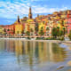 Menton, FranceMenton, nestled on the French Riviera against the foothills of the Alps, is known for its beaches and gardens. The medieval old town is home to Basilique Saint-Michel, with its 18th-century bell tower. There are several public and private beaches in this sunny resort town.Photo: Shutterstock