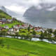 Undredal, NorwayThis quiet little Norwegian village of just 110 people (and 500 goats) is a popular tourist destination. If it sounds familiar, it's because there's an IKEA collection of the same name. Goat cheese is a main source of income here.Photo: Shutterstock