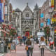 DublinDublin offers a very walkable shopping experience, according to Hotels.com, thanks to many pedestrian-only zones. They recommend The Jervis Shopping Center, Castle Market, Temple Bar and Henry Street. Look for woolen items, pick up some Irish whiskey, Irish chocolate, linen and cheeses.Photo: jamegaw / Shutterstock