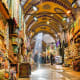 IstanbulIstanbul has malls, historical bazaars, small shops selling handmade carpets, state-of-the-art designer boutiques, and spice markets. The Grand Covered Bazaar, shown here, offers thousands of shops selling everything from jewelry and silk garments to carpets and leather goods.Photo: Tekkol / Shutterstock