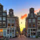 AmsterdamThere are plenty of shopping experiences in Amsterdam, from upscale designer boutiques to vintage stores. The Negen Straatjes (Nine Streets) in the city's historic district, pictured here, are filled with a range of unique shops, art galleries, and cafes. Antique shoppers will like the city center. The museum district has many designer names, including Dior , Ralph Lauren , DKNY, and Tommy Hilfiger.Photo: Dennis van de Water / Shutterstock