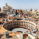 Valencia, SpainIn Valencia, visit the Plaza Redonda, above, in the historic center of the city where you'll find ceramics, souvenirs, lace, and other items. Also go to Calle de las Cestas for handmade wickerwork and leather goods.Photo: Shutterstock