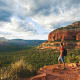 Sedona, Ariz.You can't beat Sedona for natural beauty. The Red Rocks of Sedona are world famous for the colors, especially at sunrise and sunset. That beauty, combined with the mountains, climate, outdoor recreation and the arts have made Sedona a popular retirement community.Photo: Shutterstock