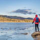 Ft. Collins, Colo.Fort Collins has low crime rates, many outdoor activities, and is home to a University of Colorado campus. Above, Horsetooth Reservoir near Fort Collins.Photo: Shutterstock