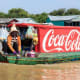 17. Coca-Cola2019 Brand Valuation: $36.2 billionChange since last year: +19.1%Industry: soft drinksState: GeorgiaStock symbol: KOAbove, a floating store in Siem Reap, Cambodia, is adorned with a Coca-Cola ad.Photo: hanohiki / Shutterstock