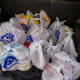 14. Plastic Bags, Sacks, and Wraps24.27 pounds per personAccording to the Natural Resources Defense Council, the average American family takes home almost 1,500 plastic shopping bags a year. About 100,000 marine animals are killed by plastic bags each year.Photo: Shutterstock