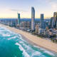 23. Surfers Paradise BeachSurfers Paradise, AustraliaA seaside resort in eastern Australia, Surfers Paradise Beach offers a backdrop of skyscrapers and hosts a popular market several evenings a week. There are shops, cafes and nightclubs.Photo: Shutterstock