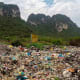 20. VietnamPlastic Waste Generation Per Year: 3.27 million tonsAbove, an illegal trash dump in a national park in Vietnam. Photo: Shutterstock