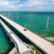 Route 1 takes you through the Keys and across the Seven-Mile Bridge, above, which is just one of 42 bridges you'll cross.Photo: Shutterstock