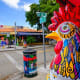 Scenic Road Trips: Overseas HighwayThis is a shorter road trip, just 150 miles from Miami through the Florida Keys on Route 1 ending in Key West. Above, colorful artwork on display along the popular Calle Ocho in Miami's historic Little Havana.Photo:Fotoluminate LLC / Shutterstock