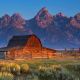 From there, head to Estes Park, Colo. and on to Laramie, Wyo., Wind River County, and Jackson, Wyo. Jackson is the gateway to the Grand Tetons, above, and Yellowstone National Park.Photo: Shutterstock