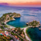 Isola Bella, Taormina, ItalyThis little island near the beautiful town of Taormina, in Sicily, is picture-perfect. Audrey Hepburn used to spend her holidays here. A hotel sits just opposite the island.Photo: Shutterstock