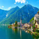Hallstatt, AustriaA beautiful, 16th-century Alpine village perched on the edge of a lake, Hallstatt is a Unesco World Heritage site. The town is named for its long history of salt mining. The scenery is beautiful year round, whether in full autumn color, spring bloom, or with a dusting of winter snow.Photo: Shutterstock