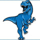Carbon High DinosPrice, UtahThe mascot isa tribute to the dinosaur fossils that have been found in the area, according to USA Today. A Tyrannosaurus rex is their game mascot.Photo: Carbon High