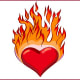 """Effingham Flaming HeartsEffingham, Ill.According to the Herald Review, a city resident referred to Effingham as the """"Heart of America"""" in a campaign to attract visitors to the city, though no one is quite sure where the """"flaming"""" came from.Photo: Shutterstock"""