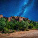 You can see the Saharaby taking a boat cruise along the Nile River or a camel ride at dusk, when you can see abundant wildlife and an astonishingly starry sky. Pictured is the Ksar of Ait-Ben-Haddou in Morocco, a World Heritage site.Photo: Shutterstock