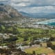 Overstrand, South AfricaThis area on the Atlantic coast of South Africa between Cape Town and Cape Agulhas includes the towns of Hermanus and Kleinmond. It is a top whale-watching spot. It has beaches, as well as vineyards and wineries and a scenic seaside golf course, seen here.Photo: Shutterstock