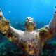 12. North Key Largo, Fla.Cost: $826.4 million for 55 miles of seawallsPopulation: 1,244Avg. cost per person: $619,004Above, the Christ of the Abyss statue is located a few miles off Key Largo and is a popular diving spot. It is a casting of the original by Guido Galletti that sits in the Mediterranean Sea.Photo: Shutterstock