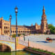 Winters in Seville are relatively mild, with average highs in the 60s F. and lows in the 40s F. July and August can soar well over 100 F., which is why Sevillanos spend the hot afternoons in theircool homeswith thick stone walls and shady central patios.Photo:Anibal Trejo / Shutterstock