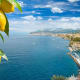 Sorrento, ItalySorrento, Italy, is a sun-splashed energetic place that sits on a cliff facing the Bay of Naples. It has stunning views ofVesuvius looming over Naples as well as the rocky island of Capri.The climate is pleasant with hot, dry summers and mild, moist winters.Photo: Shutterstock