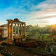 2. Rome and New YorkRome's most popular tourist destinations are the Vatican Museums and the Colosseum. Pictured is the Roman Forum. About 62 million people visited New York City in 2017.Photo: Shutterstock