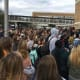 20. North CarolinaFirearms Industry Rank: 30Gun Prevalence Rank: 24Gun Politics Rank: 18Students at New Hanover High School in Wilmington, N.C. participate in a national student walk out in March 2018. The walkout protests lack of government action to prevent gun violence.Photo: MicheleMidnight / Shutterstock