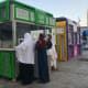 """63. Saudi Arabia Saudi Arabia comes in second-to-last place worldwide in terms of unrestricted access to online services such as social media, only ahead of China. """"There is no freedom and too much restriction,"""" an Indian expat said in the survey. Pictured are telecom booths in Medina.Photo: AHMAD FAIZAL YAHYA / Shutterstock"""