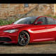 2020 Alfa Romeo GTVThe Alfa Romeo GTV is based on the current Giulia, (pictured here) and will be a 600-horsepower hybrid coupe with all wheel drive. According to Car and Driver, the GTV will start at around $50,000.Photo: Alfa Romeo