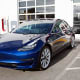 Customer FavoritesThese are some customer favorites on Edmunds that get the most five-star reviews from buyers:Tesla Model 3Starts at: $35,000MPGe: (electric equivalent) 140 city / 124 highwayThe all-electric Tesla Model 3 has a range of about 325 miles.Photo: Aleksei Potov / Shutterstock