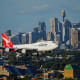 5. QantasOverall score: 8.04 /10On-time performance score: 7.9Service quality score: 8.3Claim processing score: 7.9Above, a Qantas plane approaches the airport in Sydney, Australia.Photo: PomInOz / Shutterstock