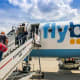 11. FlybeOverall score: 7.75 /10On-time performance score: 7.1Service quality score: 7.7Claim processing score: 8.4Flybe is a British airline recently sold to Connect Airways in a sale backed by Virgin Atlantic.Photo: Ceri Breeze / Shutterstock