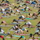 17. AtlantaCost and Participation Rank: 11Sports and Outdoors Rank: 18 Above, residents take part in a free group yoga class at the Old Fourth Ward Park in Atlanta in 2017.Photo: BluIz60 / Shutterstock