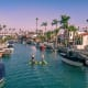 23. Long Beach, Calif. Total housing value at risk: $6.9 billionShare of housing in risk zone: 5.8%Number of homes in risk zone: 5,284Photo: Shutterstock