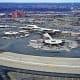 30. Newark Liberty International Airport (EWR)(mega airport)Satisfaction score: 695LaGuardia Airport scored 662.Photo: EQRoy / Shutterstock